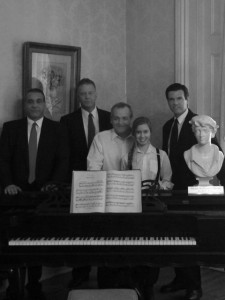 """With the cast of """"Old Chicago Souls"""""""